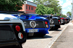 Pagani Zonda Vanishing Point 2013 (Soluz91) Tags: point s f r lh vanishing rs coup cinque evo zonda roadster passione pagani tricolore 760 764 2013 huayra