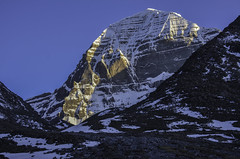 Mount Kailash (P. Bhatt) Tags: poverty nepal mountain money landscape nikon god faith palace tibet lama lhasa kailash potala 5700 himalayas dalai monsarover