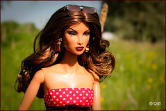 Natalia (astramaore) Tags: brown hot beauty fashion hair toy model glamour doll tan property greeneyes chestnut natalia chic royalty tanned fulllips fashionroyalty