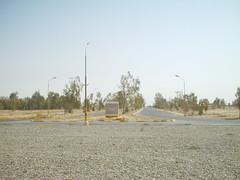 Traffic Circle COB Speicher (ibgrunt) Tags: iraq cob speicher tikrit