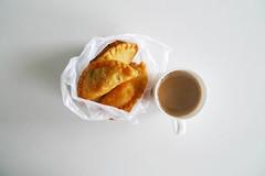 puffs (alynnteo) Tags: food coffee blog break potatopuff sardinepuff