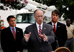 07-22-13 Governor Bentley holds Signing Ceremony for Bill Related to Absentee Ballots during a state of emergency