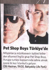 0006 (ThunderParker) Tags: blue music celebrity love electric turkey magazine newspaper concert jean please very yes hey istanbul actually pop 80s petshopboys elysium q articles neiltennant fundamental chrislowe