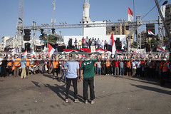 Egypt - Cairo - Rabaa Al-Adawiya Square (Michel Marcipont) Tags: dead army football kill mort president religion egypt revolution shooting constitution martyrs parlement brotherhood niqab humanrights politique democratic marche protesters ong medias manifestation egypte assembly coup democratie confrontation coran clashes antiterrorism copte moubarak citoyen nikab islamistes 25janvier nasserists anticoup civilianwar charia mohamedmorsi partiegyptien michelmarcipontphotographer frresmusulmans 09082013 6aprilmovement freedomjustceparty rabaaaladawiya elnahdasquare expresidentialcondidate