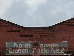 Old Canada Dock Sign (kev thomas21) Tags: england canada sign liverpool docks dock railway mersey dockers merseyside langtondock