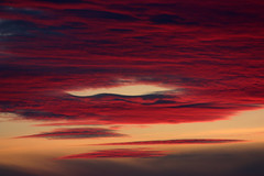 Devil's Sky (Graham Riddell Photography) Tags: red sky clouds blood devil awe awesom