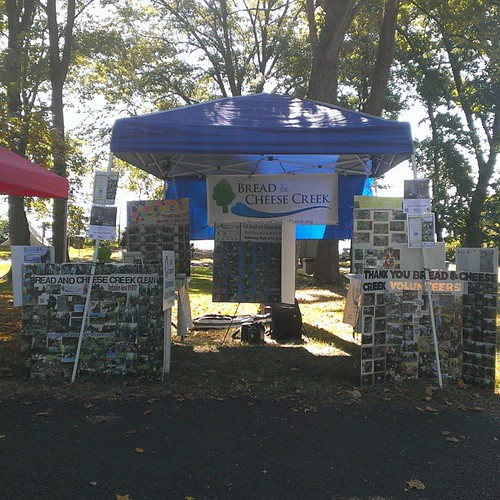 Please stop by our booth at Defender's Day in Fort Howard until 5 pm today. Learn about our upcoming cleanup on 9/21, enviromental stewardship and more!
