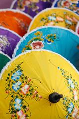 Colour (Nomadic Vision Photography) Tags: winter thailand chiangmai colourful travelphotography thaiart jonreid borsang umbrellavillage northernthai tinareid nomadicvisioncom