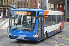 Stagecoach Manchester 26131 LL07BLU (Will Swain) Tags: uk england west bus buses manchester october britain north greater bluebird 11th 82 stagecoach interchange middleton shudehill 2013 26131 ll07blu