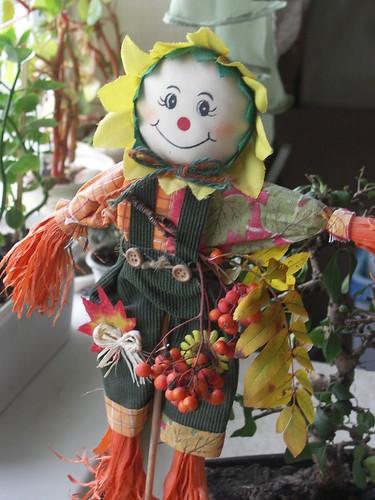 autumn doll handmade