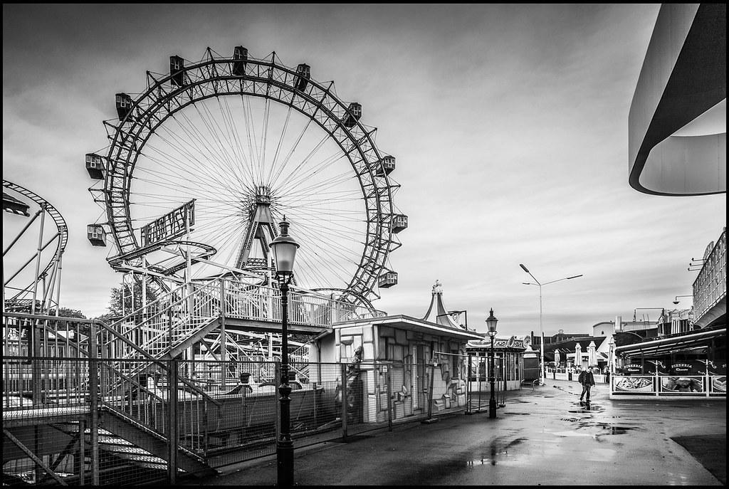 Prater wien theotherperspective78 tags vienna wien white black fairground fair rollercoaster weiss schwarz