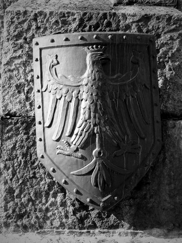 Aigle couronné, emblême national, Cracovie, Pologne