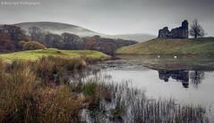 Morton Castle (.Brian Kerr Photography.) Tags: reflections landscape scotland loch morningmist dumfriesandgalloway thornhill mortoncastle