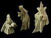 Porcelain Origami: 3 Kings