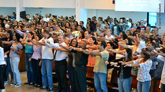 Ceia do Senhor - Dez 2013 (Primeira Igreja Batista de Campo Grande) Tags: domingo culto dominical orao comunho grei congregao cultomatutino ceiadosenhor