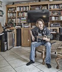 ian (peter.clark) Tags: ian guitar