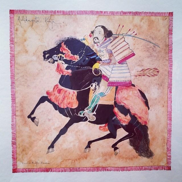 """""""Guerrero Veloz"""" • """"El Diálogo, el Pastiche y la Memoria"""" #muestra individual de Ramiro Pareja Herrera #arte #arteenlima #art #artinlima #artist #artista #pintura #painting"""