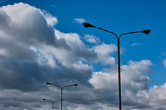 PhoTones Works #4089 (TAKUMA KIMURA) Tags: street lamp   kimura  takuma   sd15 natureclouds photones