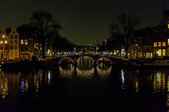 Holland - Amsterdam - Bridge Over Prinsengracht Canal - 02 12 2013 (Redstone Hill) Tags: holland netherlands amsterdam canal prinsengracht amstel prinsengrachtcanal amstelriver neilbirchall