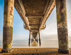 Pillar of strength (James Waghorn) Tags: longexposure winter sea england beach water pier kent nikon smooth sigma deal ultrawide lightroom nisi sigma1020 nd1000 d7100