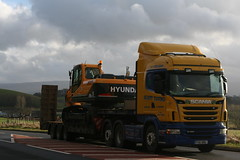 PX61BBU  Scott Young, Lockerbie (highlandreiver) Tags: truck scott young scottish suzanne lorry cumbria eddie patricia carlisle scania lockerbie a66 stobart h8246 px61bbu