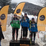 Slalom day 2 at Panorama Keurig Cup - Alix Wells 2nd; Jocelyn Macarthy 1st; Mia Henry 3rd