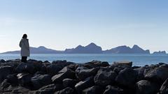 "Vestmannaeyjar | ""Westman Islands"", Iceland (daitoZen) Tags: travel winter sea panorama woman nature landscape person volcano islands coast iceland spring scenery europe south vestmannaeyjar archipelago heimaey westman surtsey imgp0743"