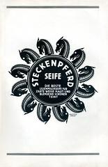 """Werbeanzeige  fr Seife Marke """"Steckenpferd"""" 1925 (altpapiersammler) Tags: old vintage advertising soup alt lettering cosmetics werbung 1925 20s anzeige artdesign kosmetik seife werbegrafik schriftdesign krperpfege werbezeichnung auchterarndt"""