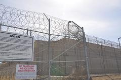 Otay Detention Centre (bbcworldservice) Tags: california door fence mexico back san border security mexican bbc tijuana nina valeria deportation robinson migrant ysidro deport deportee perasso freedom2014