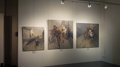 Feng Lumin - The Debut Exhibition (Artitute Art) Tags: china art portraits singapore gallery paintings exhibition oil oilpaintings chinaartist