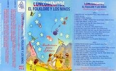 Conjunto Cuncumenitos, Región Metropolitana, grabó en este cassete un esquinazo tradicional recopilado por mi en Valparaíso V Región, del repertorio enseñado por la sra. Carmen Rojas Aguilera.