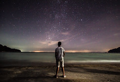 Life is Awesome (Jotham Lim) Tags: ocean life morning friends sunset beach night stars boats dawn pier is twilight peace awesome clam malaysia waters pulau redang
