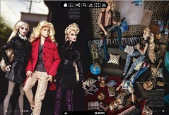 Haute Doll - Spring 2014 (Sharon Wright Photography) Tags: magazine toy photography riot doll rockstar barbie editorial jemandtheholograms thestingers integritytoys hautedoll sharonwright jemthemovie