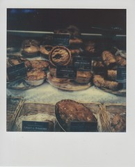 Higginsons Pies (ifleming) Tags: polaroid sx70 sonar grangeoversands generation2 impossibleproject 600colour
