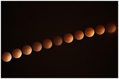 Blood Moon April 2014 (weapher) Tags: moon oregon timelapse bloodmoon