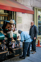 Shoe Shine Stand at Grand Central Terminal