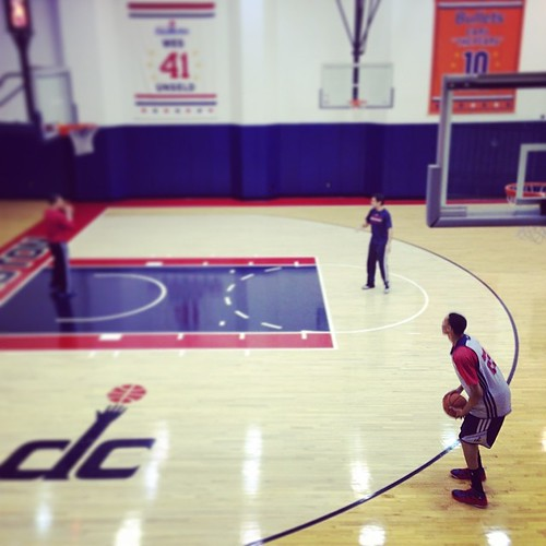 Otto P. #Slenderman: Shooting for a chance. #Wizards