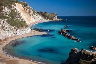 Dorset Coast in Turquoise