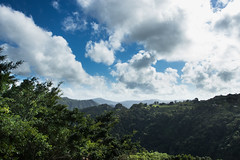 Morning View (BennyLang) Tags: travel blue sky green canon landscape puerto rainforest san juan rico 1740mm sl1