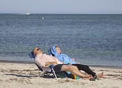 Ahhhhhh (Read2me) Tags: ocean she summer two beach relax couple nap sleep capecod candid rest ge cye seagullbeach friendlychallenges thechallengefactory pregamewinner gamesweepwinner