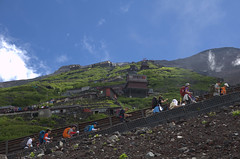Mount Fuji beklimmen