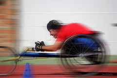 Media maratn (Juan A. Bafalliu) Tags: deporte carrera correr maratn discapacidad superacin disfrutar sillaruedas sufrir adversidad