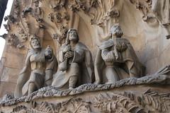 Sagrada Famlia in Barcelona (soetendaal) Tags: building architecture del de francisco paula kerk jugendstil villar antonigaud nieuwebouwen catalaansmodernisme sagradafamliabarcelonambaslicaitempleexpiatoribasiliek bouwstijlennoucentisme spaansegotiek