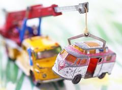 On the hook of a tow truck (G_E_R_D) Tags: macromondays thespaceinbetween towtruck abschleppwagen wreckingtruck wrecker vwbus volkswagen vw mercedesbenz daimlerbenz daimler