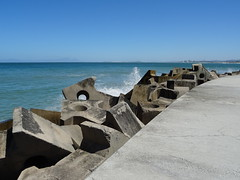 Sea Defence (Amo535) Tags: water concrete bikinibeach waves westerncape southafrica