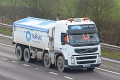 YN13 BWB (panmanstan) Tags: volvo fm wagon truck lorry commercial bulk freight tipper haulage vehicle m18 motorway langham yorkshire