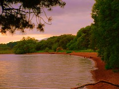 Loch Leven Shore (B4bees) Tags: blog scotland scenery visiteastscotland lochleven kinross tourism lhtt scottishloch maryqueenofscots shoreline sand natural colours geography