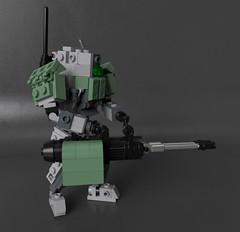 "PzInf - III ""Flamberg"" (Sunder_59) Tags: lego moc render blender3d mecabricks mech mecha military scifi vehicle hardsuit"