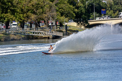 20170308_DFont_0001 (petamini_pix) Tags: water waterski moomba melbourne australia sport outdoor yarrariver wave spray splash 2017 slalom