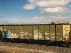 Train cars in Salinas